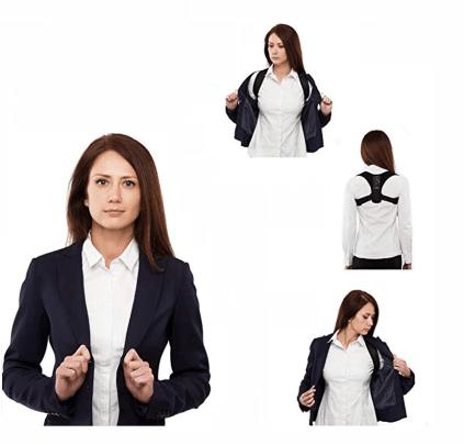 Diszkrét gerinc egyenesítő pánt amely a ruha alatt könnyen elrejthető